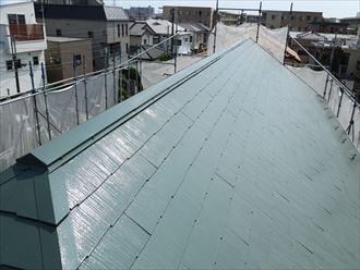 屋根塗装,完工