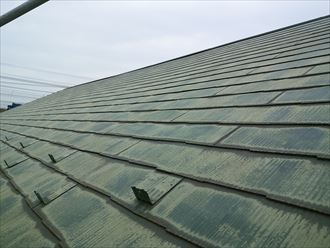 屋根,乾燥,洗浄後
