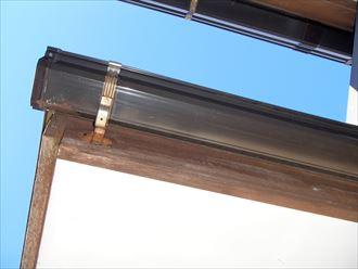 鎌ケ谷市 塗装をする必要があるかの確認と雨樋の詰まり調査です