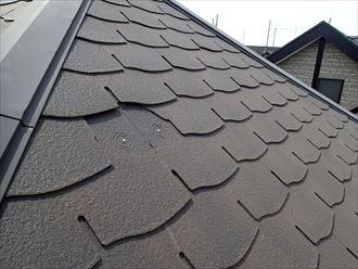 屋根,スレート,欠けあり