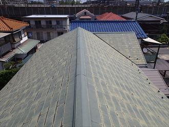 屋根,棟板金,スレート