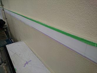幕板,塗装,施工前