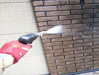 外壁塗装,ブリックタイル,洗浄