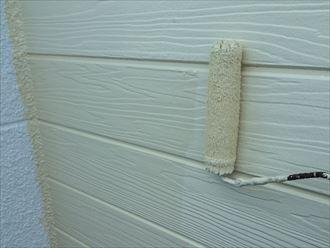 外壁塗装,上塗り