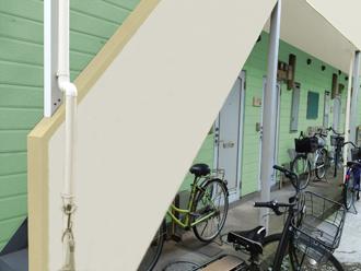 川崎市川崎区|アパートの屋根・外壁塗装の進捗状況