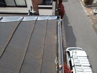 軒樋,調査,屋根,苔