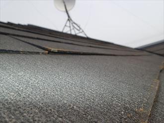 屋根,スレート,浮き