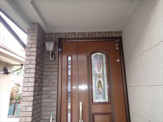 玄関周り,ブリックタイル