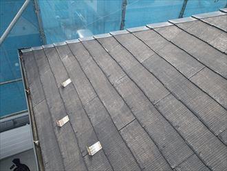 屋根,高圧洗浄後