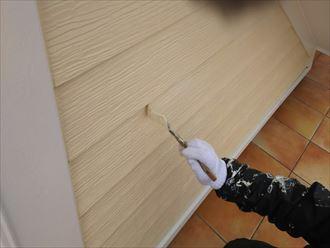 外壁塗装,ナノコンポジットW防藻+,タッチアップ