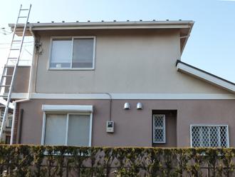 千葉市花見川区|外壁塗装前のご点検に伺ってまいりました