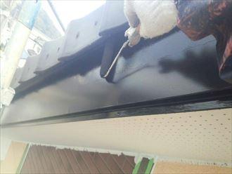 破風板,塗装,黒