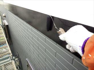 幕板,塗装,黒