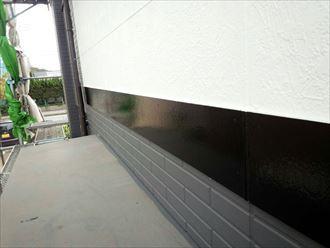 幕板,塗装,完了
