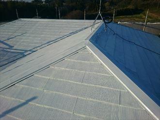 下塗り,完了,屋根塗装