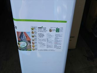 勝浦市 ウッドステインプロテクターで表面保護塗装!