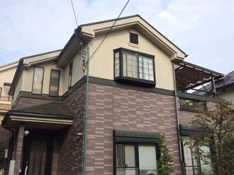 屋根 外壁 塗装前