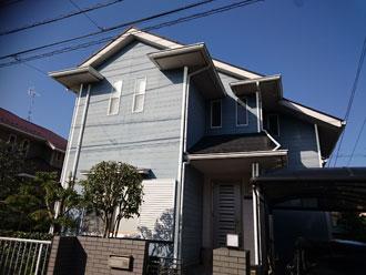 佐倉市|塗膜の剥がれが気になる!破風板・屋根点検にお伺いして参りました