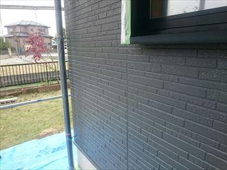 外壁塗装,ナノコンポジットW,グレー,濃い