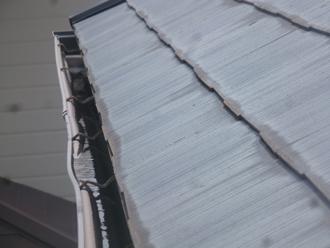 木更津市 屋根塗装 屋根点検 雨樋のたわみ