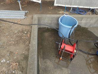 駐車場,高圧洗浄