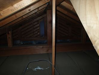 雨漏り,小屋裏,確認