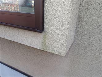 膜が劣化して色褪せた化粧スレートをサーモアイSiで屋根塗装工事