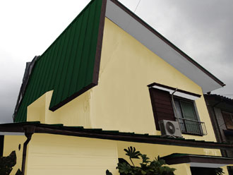 交換 屋根と外壁塗装
