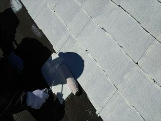 屋根,下塗り,サーモアイシーラー
