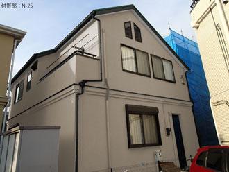 浦安市|IPヨウヘキコートで擁壁(門壁)塗装のBefore・Afterです