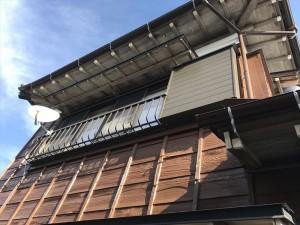 ュSiとパーフェクトトップでご実家の屋根外壁塗装を行いました。