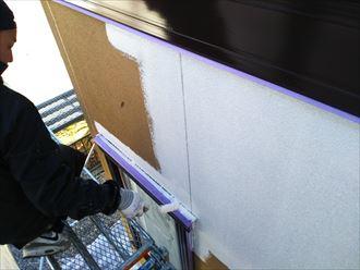 下塗り,外壁