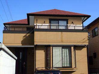 袖ヶ浦市|屋根はサーモアイSi、外壁はナノコンポジットwにて塗装完工です