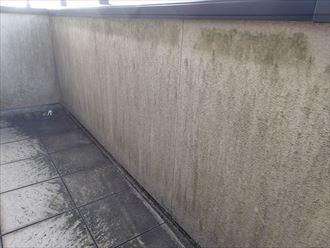ベランダ,外壁,高圧洗浄