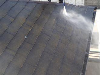 屋根,スレート,洗浄