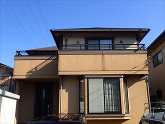 袖ケ浦市,屋根,外壁塗装,施工前