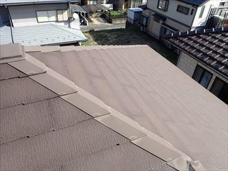屋根,スレート,苔