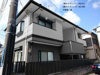 横浜市鶴見区|ホワイト×グリーンの外壁!アパートの屋根外壁塗装完工です!