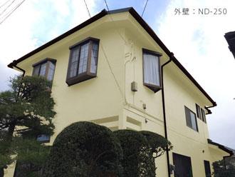 横浜市神奈川区 外壁塗装 カラーシミュレーション 外壁の色 ND-250