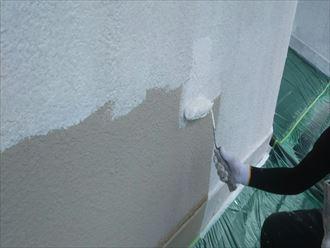 下塗り外壁