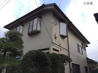 横浜市神奈川区 外壁塗装 カラーシミュレーション 元画像