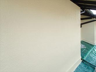 外壁,上塗り