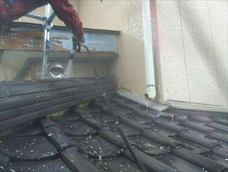 屋根,洗浄