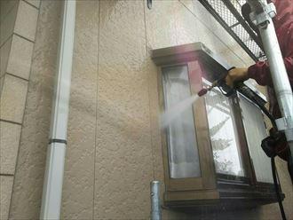 外壁,洗浄