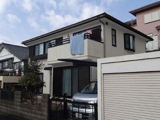 佐倉市|屋根はサーモアイ4Fで外壁はエラストコートでの塗装工事開始!