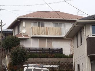 流山市|屋根外壁塗装工事!まずは養生と高圧洗浄から!