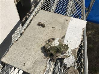 袖ケ浦市|強風で剥がれた工場のサイディングの張替え補修