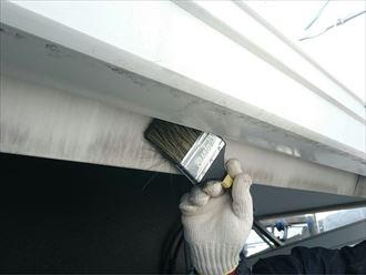 破風板清掃