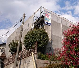 流山市|屋根外壁塗装工事も終盤に差し掛かっております