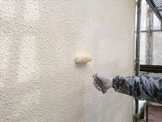 上塗り,外壁